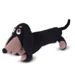 Knitty Critters – Classic Critters – Diggy Dachshund