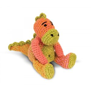 Knitty Critters – Classic Critters – Domino Dinosaur
