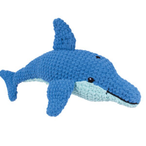 Knitty Critters – Classic Critters – Finley Dolphin