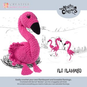 Knitty Critters – Classic Critters – Flo Flamingo