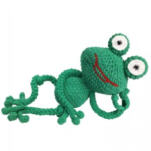 Knitty Critters – Classic Critters – Go Go Eddie The Frog