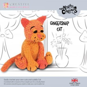 Knitty Critters – Classic Critters – Gingersnap Cat