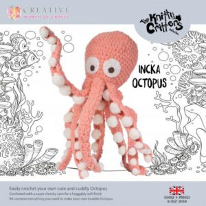 Knitty Critters – Classic Critters – Incka Octopus