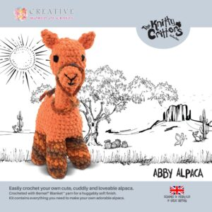 Knitty Critters – Classic Critters – Abby Alpaca