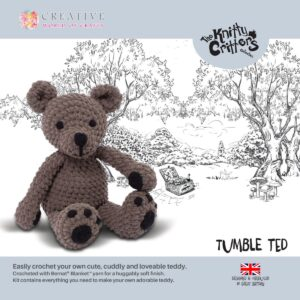Knitty Critters – Classic Critters – Tumble Ted