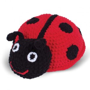 Knitty Critters – Classic Critters – Evie Ladybird