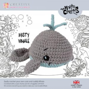 Knitty Critters – Classic Critters – Misty Whale
