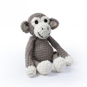 Knitty Critters – Classic Critters – Charlie Chimp