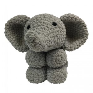 Knitty Critters – Classic Critters – Ollie Elephant