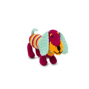 Knitty Critters – Pocket Pals – Fig Sausage Dog