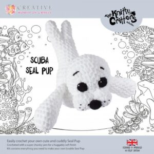 Knitty Critters – Classic Critters – Scuba Seal Pup