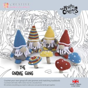 Knitty Critters – Classic Critters – The Gnome Gang