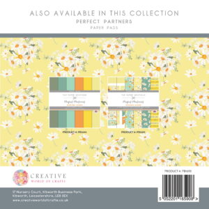 The Paper Boutique – Dancing Daisies – 8″ x 8″ Perfect Paper Kit