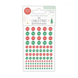 The Paper Boutique A Christmas Adventure Adhesive Gems