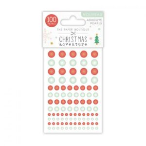 The Paper Boutique A Christmas Adventure Adhesive Pearls