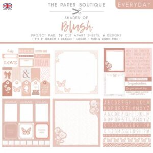 The Paper Boutique – Shades of Blush – Project Pad