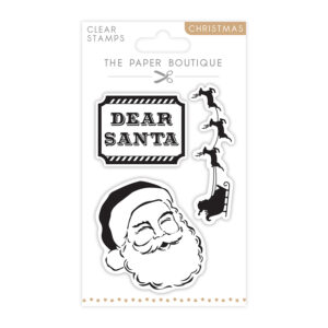 The Paper Boutique A6 Christmas Stamps – Santa Claus – Set of 3