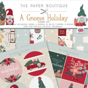 The Paper Boutique A Gnome Holiday Paper Kit