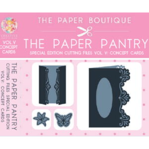 The Paper Pantry Special Edition Cutting Files Vol. V USB