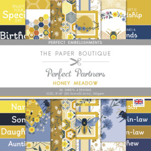 The Paper Boutique – Honey Meadow – Perfect Embellishments