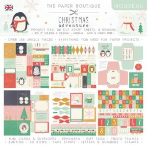 The Paper Boutique A Christmas Adventure Project Pad