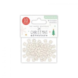 The Paper Boutique A Christmas Adventure Wooden Shapes