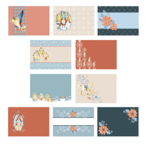The Paper Boutique – Enchanted Christmas – Inserts Collection