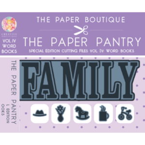 The Paper Pantry Special Edition Cutting Files Vol. IV USB
