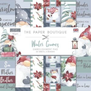 The Paper Boutique – Winter Gnomes – Embellishment Papers PDF Download