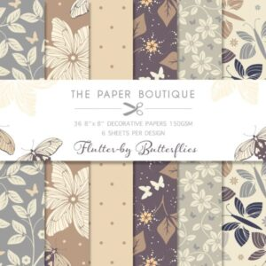The Paper Boutique – Flutterby Butterflies – Papers PDF Download