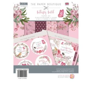 The Paper Boutique – Butterfly Ballet – Papers & Toppers PDF Download