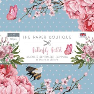 The Paper Boutique – Butterfly Ballet – Scene & Sentiment Toppers PDF Download