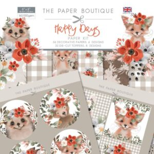 The Paper Boutique – Happy Days – Papers & Toppers PDF Download