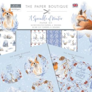 The Paper Boutique – A Sprinkle of Winters – Papers & Toppers PDF Download
