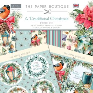 The Paper Boutique – Traditional Christmas – Papers & Toppers PDF Download