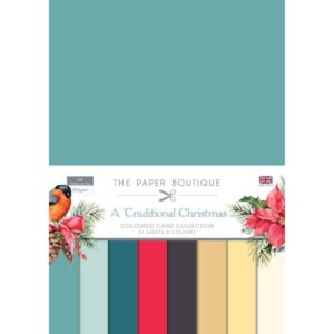 The Paper Boutique – Traditional Christmas – Coloured Card PDF Download