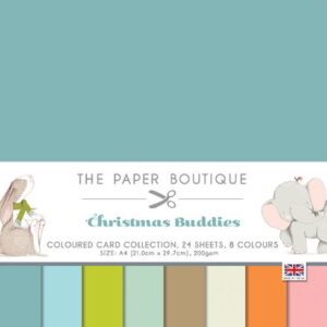 The Paper Boutique – Christmas Buddies – Coloured Card Collection