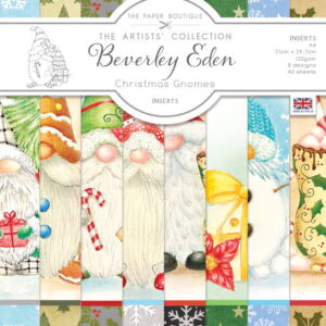 The Paper Boutique Artists' Collection – Beverley Eden – Christmas Gnomes Insert Collection