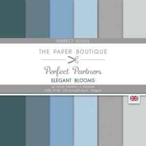 The Paper Boutique Perfect Partners Elegant Blooms – Perfect Solids