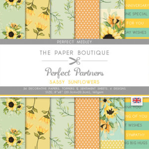 The Paper Boutique Perfect Partners Sassy Sunflowers – Perfect Medley