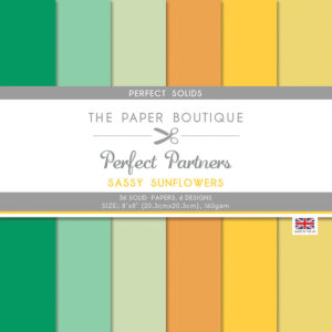 The Paper Boutique Perfect Partners Sassy Sunflowers – Perfect Solids