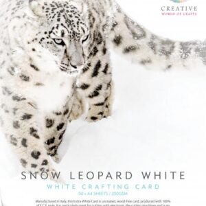 Snow Leopard 250gsm Card – 50 A4 Sheets