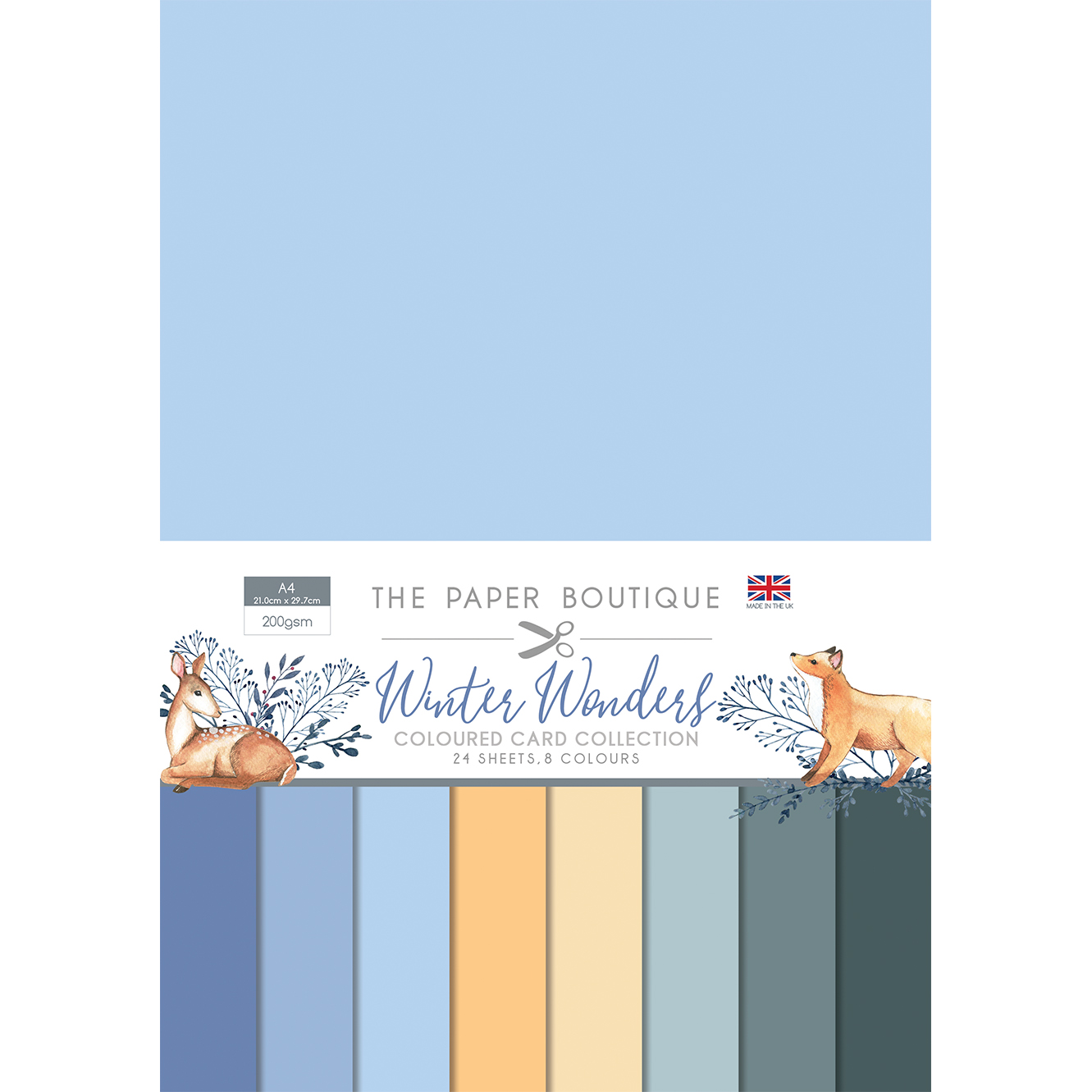 LUCKY DIP – The Paper Boutique A4 Coloured Card Collection