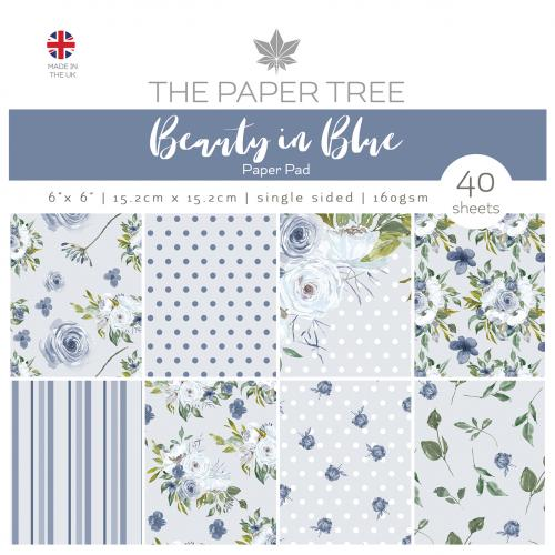 The Paper Tree Beauty in Blue 6″ x 6″ Paper Pad