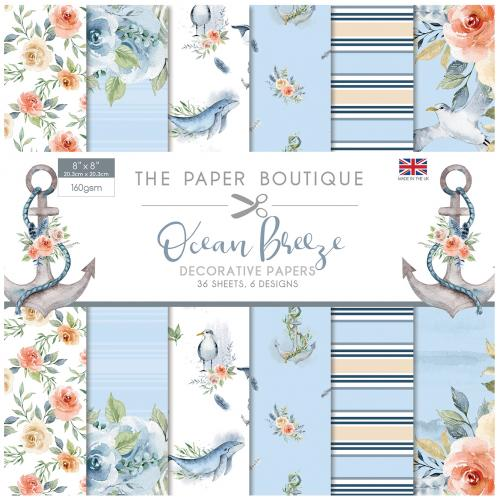 The Paper Tree Beauty in Blue 8″ x 8″ Paper Pad