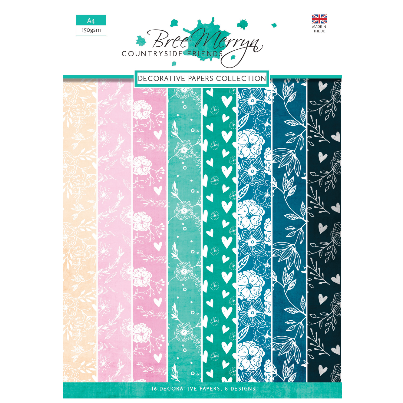 Bree Merryn Countryside Friends A4 Decorative Papers