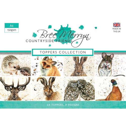Bree Merryn Countryside Friends A6 Toppers