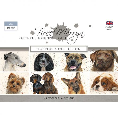 Bree Merryn Faithful Friends Vol. 2 A6 Topper Collection