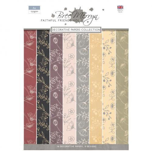 Bree Merryn Faithful Friends Vol. 2 A4 Decorative Papers