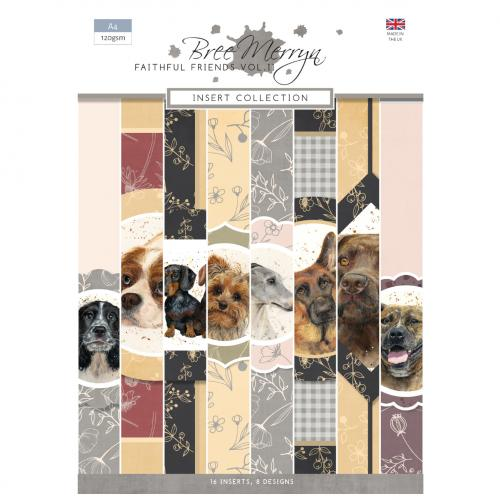 Bree Merryn Faithful Friends Vol. 2 A4 Inserts Collection